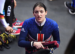 Charlotte Gilmartin (GBR). Short track. Gangneung ice arena. Pyeongchang2018 winter Olympics. Gangneung. Republic of Korea. 10/02/2018.