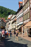 Hauptstraße von Miltenberg in Unterfranken, Bayern, Deutschland