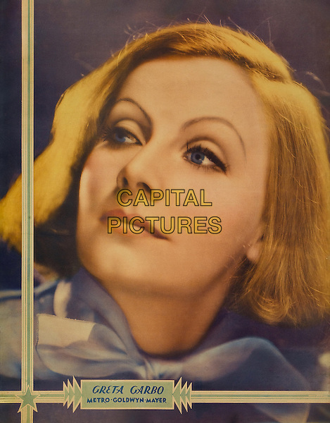 Greta Garbo, Promotional Poster.*Filmstill - Editorial Use Only*.CAP/PLF.Supplied by Capital Pictures.