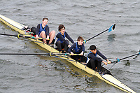 Crew: 356  Dulwich Coll  Event: J15 Fours<br /> <br /> Schools' Head of the River 2017<br /> <br /> To purchase this photo, or to see pricing information for Prints and Downloads, click the blue 'Add to Cart' button at the top-right of the page.