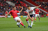 Marcus Tavernier of Middlesbrough shot saved by Dillon Phillips of Charlton Athletic during Charlton Athletic vs Middlesbrough, Sky Bet EFL Championship Football at The Valley on 7th March 2020
