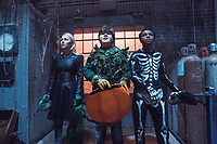 Goosebumps 2: Haunted Halloween (2018) <br /> Madison Iseman, Jeremy Ray Taylor &amp; Caleel Harris  <br /> *Filmstill - Editorial Use Only*<br /> CAP/MFS<br /> Image supplied by Capital Pictures