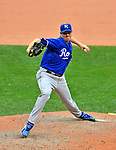 14 September 2008: Kansas City Royals' pitcher Jimmy Gobble on the mound in relief against the Cleveland Indians at Progressive Field in Cleveland, Ohio. The Royal defeated the Indians 13-3 to take the 4-game series three games to one...Mandatory Photo Credit: Ed Wolfstein Photo