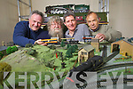 Getting ready for the Model Railway project which opens on Friday night at Blennerville Windmill, from Left, Harry Kelliher, Mike Neill, Gene Lacey and Vincent Hayes.