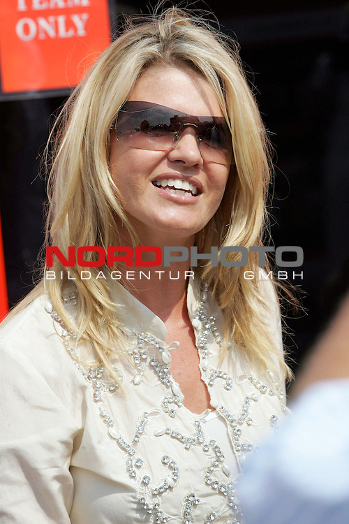 Formel 1<br /> Corinna Schumacher<br /> <br /> Foto &copy; nordphoto <br /> <br />  *** Local Caption ***