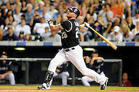 19 JUNE 2010: Colorado Rockies first baseman Jason Giambi (23) during a regular season Major League Baseball game between the Colorado Rockies and the Milwaukee Brewers at Coors Field in Denver, Colorado.   The Rockies beat the Brewers 8-7. *****For Editorial Use Only*****