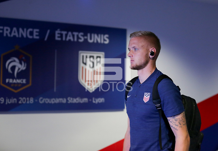 Lyon, France - Saturday June 09, 2018: William Yarbrough during an international friendly match between the men's national teams of the United States (USA) and France (FRA) at Groupama Stadium.