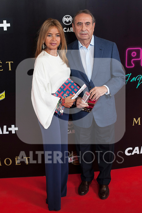 Pacha `El arquitecto de la noche´ film premiere in Madrid, Spain. May 25, 2015. (ALTERPHOTOS/Victor Blanco)