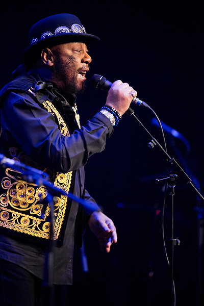 Willie West performs at the Ponderosa Stomp in New Orleans on October 06, 2017.