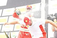 GOIÂNIA,GO.06.11.2016 - STOCK CAR-GO - Átila Abreu comemora pódio na etapa Goiânia no autódromo internacional Ayrton Senna, na cidade de Goiânia neste domingo (06)(Foto: Marcos Souza/Brazil Photo Press)