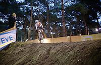 race leader Sabrina Stultiens (NLD/Rabobank-Liv)<br /> <br /> Zilvermeercross 2014