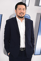 "Director, Justin Lin<br /> arrives for the ""Star Trek Beyond"" premiere at the Empire Leicester Square, London.<br /> <br /> <br /> ©Ash Knotek  D3140  12/07/2016"