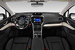 Stock photo of straight dashboard view of a 2019 Subaru Ascent Limited 5 Door SUV