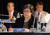 Fussball 63. FIFA Kongress auf Mauritius 2013    29.05.2013 AFC Konfederation Meeting, Vize Praesidentin Moya Dodd (Autralien)
