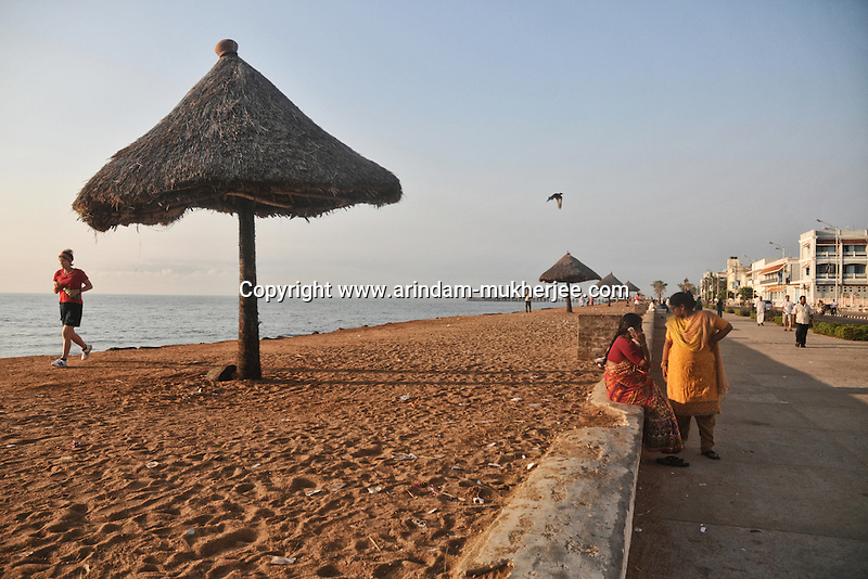 An early morning at the beach of Pondicherry. Arindam Mukherjee