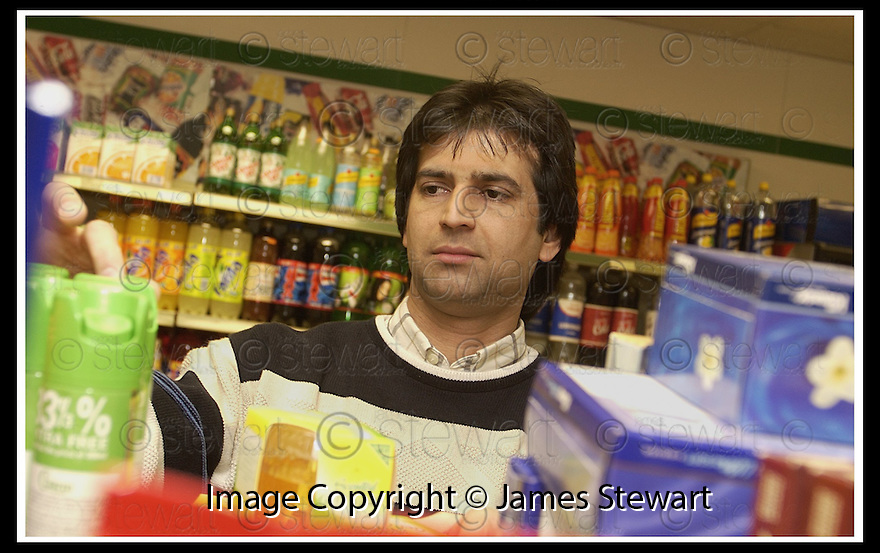 06/02/2002                 Collect Pic : James Stewart .Ref :     .File Name : stewart-shop actor 05.BANNOCKBURN SHOPKEEPER ASLAM HASSAN WHO IS A TV STAR BACK IN HIS NATIVE PAKISTAN...... HE IS PICTURED WORKING IN HIS GENERAL STORE IN BANNOCKBURN..........(see copy from George Mair / Tim Bugler).......James Stewart Photo Agency, Stewart House, Stewart Road, Falkirk. FK2 7AS      Vat Reg No. 607 6932 25.Office     : +44 (0)1324 630007     .Mobile  : + 44 (0)7721 416997.Fax         :  +44 (0)1324 630007.E-mail  :  jim@jspa.co.uk.If you require further information then contact Jim Stewart on any of the numbers above.........