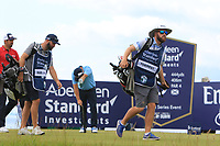 Andy Sullivan (ENG) on the 6th during Round 2 of the Aberdeen Standard Investments Scottish Open 2019 at The Renaissance Club, North Berwick, Scotland on Friday 12th July 2019.<br /> Picture:  Thos Caffrey / Golffile<br /> <br /> All photos usage must carry mandatory copyright credit (© Golffile | Thos Caffrey)