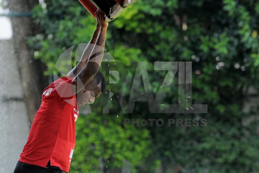 SÃO PAULO,SP,11.02.2019 - FUTEBOL-SÃO PAULO FC -  Arboleda  jogador do São Paulo durante treino no Centro de treinamento da Barra Funda na região oeste de São Paulo, nesta segunda-feira, 11. (Foto: Dorival Rosa/Brazil Photo Press/Folhapress)