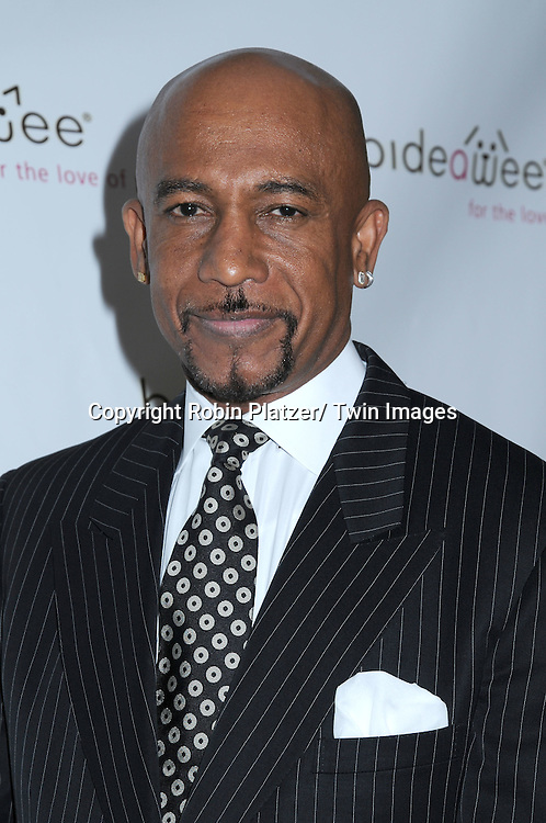 Montel Williams posing for photographs at The Bideawee Gala on June 7, 2010 at Gaustavinos in New York City.