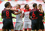 Rani Khedira (FCA), Rouwen Hennings (F95) Adam Bodzek (F95), Jeffrey Gouweleeuw (FCA)<br /><br />Fussball 1. Bundesliga, 33.Spieltag, Fortuna Duesseldorf (D) -  FC Augsburg (A), am 20.06.2020 in Duesseldorf/ Deutschland. <br /><br />Foto: AnkeWaelischmiller/Sven Simon/ Pool/ via Meuter/Nordphoto<br /><br /># Editorial use only #<br /># DFL regulations prohibit any use of photographs as image sequences and/or quasi-video #<br /># National and international news- agencies out #