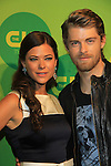 05-16-13 CW Upfront - Peyton List & Luke Mitchell - Tomorrow People / Ian Somerhalder - Nina Dobrev