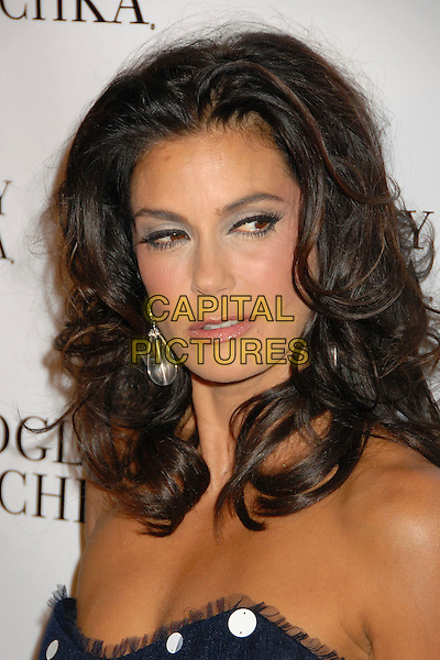 TERI HATCHER.The New Badgley Mischka Campaign, held at One Sunset Restaurant in West Hollywood, California, USA. .August 27th 2007.headshot portrait strapless .CAP/ADM/BP.©Byron Purvis/AdMedia/Capital Pictures