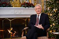 King Philippe Of Belgium Christmas wishes - Pool photos - Belgium