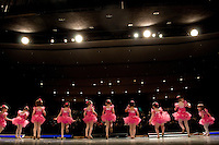 Generations dancers at the company's May recital rehearsal in the auditorium at Westerville South.