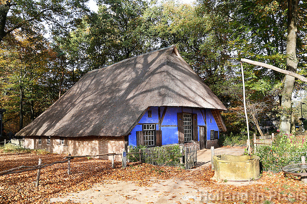 Nederland Arnhem 2015.  Het Nederlands Openluchtmuseum. Los Hoes uit Harreveld.  Foto Berlinda van Dam / Nederlandse Hoogte