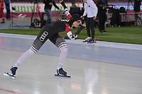 SPEEDSKATING: HAMAR: Vikingskipet, 29-02-2020, ISU World Speed Skating Championships, Sprint, 1000m Ladies, Qishi Li (CHN), ©photo Martin de Jong