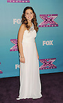 LOS ANGELES, CA - DECEMBER 19: Carly Rose Sonenclar arrives at Fox's 'The X Factor' Season Finale Night 1 at CBS Televison City on December 19, 2012 in Los Angeles, California.