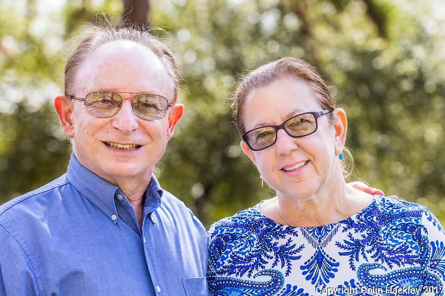 TALLAHASSEE, FLA.10/15/17-David and Cindy Suhrweir<br /> <br /> <br /> <br /> COLIN HACKLEY PHOTO