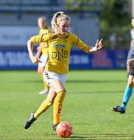 20190813 - DENDERLEEUW, BELGIUM : LSK's Mille Dalen pictured during the female soccer game between the Greek PAOK Thessaloniki Ladies FC and the Norwegian LSK Kvinner Fotballklubb Ladies , the third and final game for both teams in the Uefa Womens Champions League Qualifying round in group 8 , Tuesday 13 th August 2019 at the Van Roy Stadium in Denderleeuw  , Belgium  .  PHOTO SPORTPIX.BE for NTB | DAVID CATRY