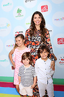 LOS ANGELES - SEP 23:  Ali Landry, Estela Monteverde, Valentin Monteverde, Ali Landry, Marcelo Monteverde at the 6th Annual Red CARpet Safety Awareness Event at the Sony Pictures Studio on September 23, 2017 in Culver City, CA