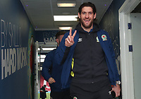 Blackburn Rovers' Danny Graham arrives at the ground<br /> <br /> Photographer Rachel Holborn/CameraSport<br /> <br /> The EFL Sky Bet League One - Blackburn Rovers v Shrewsbury Town - Saturday 13th January 2018 - Ewood Park - Blackburn<br /> <br /> World Copyright &copy; 2018 CameraSport. All rights reserved. 43 Linden Ave. Countesthorpe. Leicester. England. LE8 5PG - Tel: +44 (0) 116 277 4147 - admin@camerasport.com - www.camerasport.com