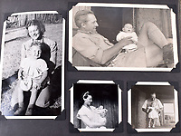 BNPS.co.uk (01202 558833)<br />Pic: C&T/BNPS<br /><br />Flt Lt Antoni Lipkowski's emigrated to a farm near Geelong in Australia after the war with Belgium wife Gilberta where they had a daughter Kathleen.<br /> <br /> A fascinating photo album has sold for £1200 at auction - the previously unseen photographs chart the wartime career of Polish aristocrat Antoni Lipkowski -revealing how the emigree from Nazi Europe became a fighter pilot in the RAF.<br /> <br /> Flight Lieutenant Antoni Lipkowski escaped Poland when Germany invaded in 1939 and was desperate to join in the fight against the Nazis.<br /> <br /> Previously a cavalry officer, he retrained as a pilot and joined one of the Polish squadrons based in Britain which did such sterling work defending these skies in World War Two.<br /> <br /> Flt Lt Lipkowski, of 316 Polish Fighter Squadron, was very tall for a pilot and turned heads with his 'handsome' appearance.<br /> <br /> There are images of him in the cockpit of his Spitfire and posing nonchalantly in front of it with a cigarette in his hand.