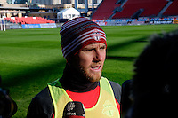 Toronto, ON, Canada - Friday Dec. 09, 2016: Michael Bradley during training prior to MLS Cup at BMO Field.