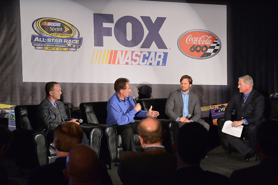 MediaTour event at Charlotte Motor Speedway