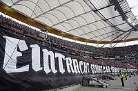 """Choreo der Fans """"Eintracht gehört zu Frankfurt"""" - 30.09.2017: Eintracht Frankfurt vs. VfB Stuttgart, Commerzbank Arena"""