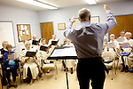 Members of the choir of the Fountain of Life Lutheran Church rehearse before church in Sun City, Arizona January 10, 2010.