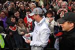 Motorsport: DTM Vorstellung  2008 Duesseldorf<br /> <br /> Ralf Schumacher vor seinen Fans bei DTM - Praesentation in Duesseldorf <br /> <br /> <br /> Foto © nph (nordphoto)