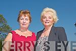 Maura O'Riordan and Nancy Brosnan both enjoying The Royal Breakfast fund-raiser in The Brehon to mark the Royal wedding.