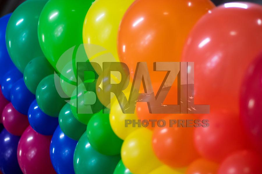 SAO PAULO, SP - 07.09.2019 - EXPO-PRIDE - Movimentação no primeiro Expo Pride, primeira feira Gay-Friendly do Brasil, na tarde deste sábado (07) no centro de exposições Imigrantes, São Paulo Expo, na zona sul de São Paulo.<br /> <br /> (Foto: Fabricio Bomjardim / Brazil Photo Press)