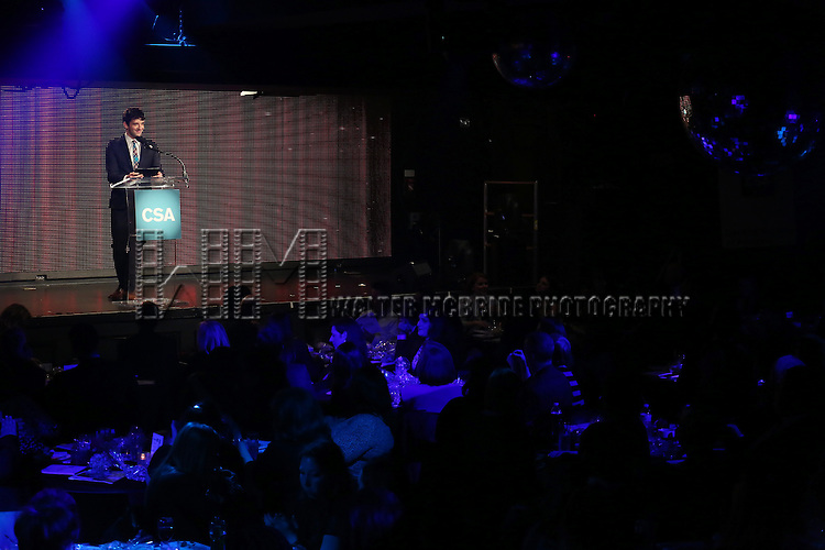 Michael Urie hosts the 30th Annual Artios Awards Presentation at 42 WEST on January 22, 2015 in New York City.