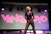 LONDON, ENGLAND - JUNE 3: Denise Post-Van Rijswijk of 'Vengaboys' performing at Mighty Hoopla at Brockwell Park, Brixton on June 3, 2018 in London<br /> CAP/MAR<br /> &copy;MAR/Capital Pictures