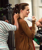 August 17, 2012 Leighton Meester shooting on location for Gossip Girl in New York City. &copy; RW/MediaPunch Inc. /NortePhoto.com<br /> <br /> **SOLO*VENTA*EN*MEXICO**<br /> **CREDITO*OBLIGATORIO** <br /> *No*Venta*A*Terceros*<br /> *No*Sale*So*third*<br /> *** No Se Permite Hacer Archivo**<br /> *No*Sale*So*third*