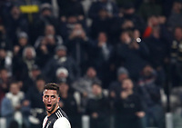Calcio, Coppa Italia round 8 : Juventus - AS Roma, Turin, Allianz Stadium, January 22, 2020.<br /> Juventus' Rodrigo Bentancur celebrates after scoring during the Italian Cup football match between Juventus and Roma at the Allianz stadium in Turin, January 22, 2020.<br /> UPDATE IMAGES PRESS/Isabella Bonotto