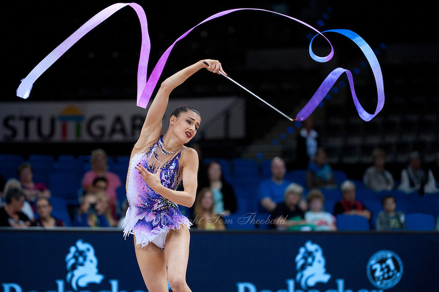 September 10, 2015 - Stuttgart, Germany - DANIELLE PRINCE of Australia performs during AA qualifications at 2015 World Championships to eventually win the Oceania continental selection to Rio 2016.
