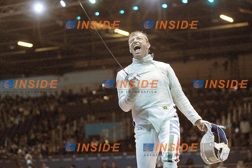 GIGI TARANTINO (ITA).Men Team Sabre .Olympic Games London 2012.Olimpiadi Londra 2012.Foto Giovanni Minozzi / Insidefoto