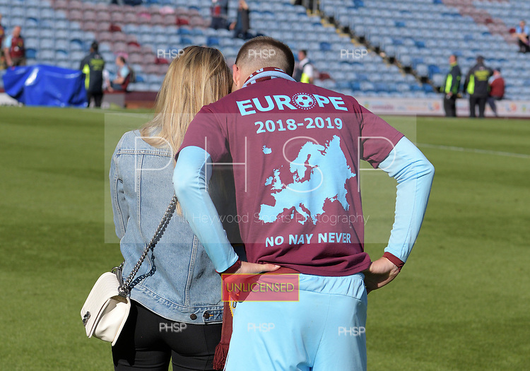 13/05/2018 Premier League Burnley v AFC Bournemouth<br /> <br /> Johann Berg Gudmundsson